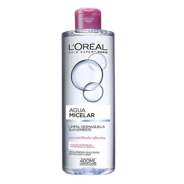 Micellärt vatten Soft L'Oreal Make Up (400 ml) - parfymeria