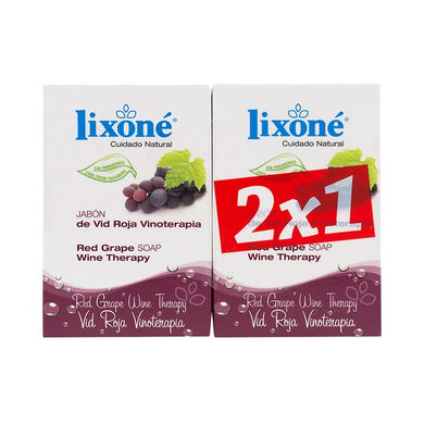 Tvålset Red Grape Wine Lixoné (2 st) - parfymeria