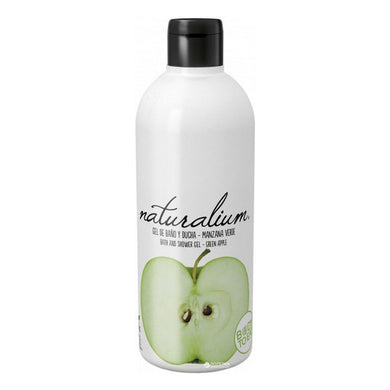 Duschtvål Green Apple Naturalium (500 ml) - parfymeria