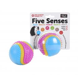 FIVE SENSES BEEF SCENTED RUBBER TOY