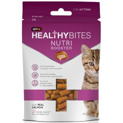Vetiq healthy bites nutri booster kitten treats