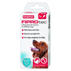 Beaphar FIPROtec spot -on for medium dogs