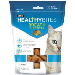 Vetiq healthy bites breath & dental cat treats