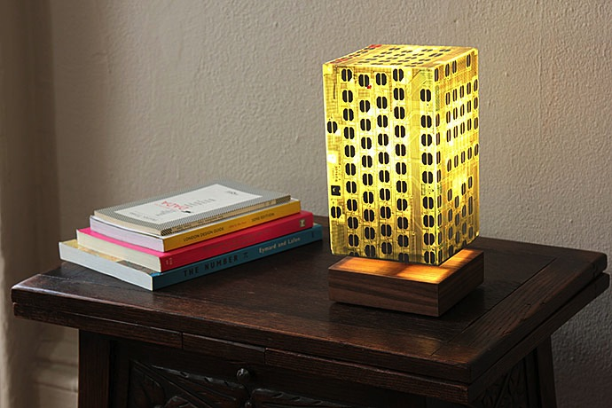 Circuit Board Lamps by Ramiro Cairo