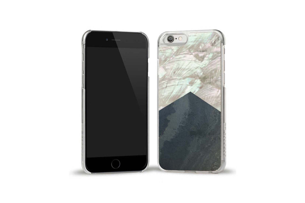 Stone White Shell iPhone 6/6S Case
