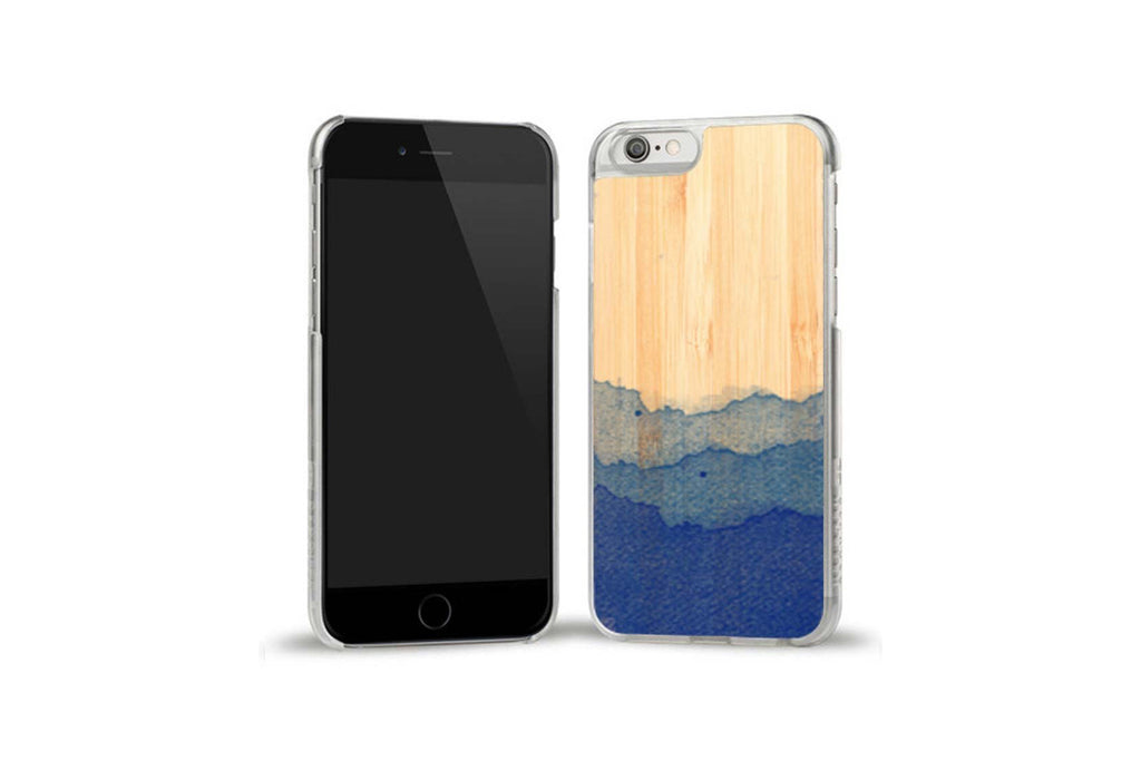 Dip Dye Blue Bamboo iPhone 6/6S Case