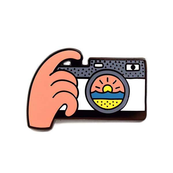 Sunset Snap Pin