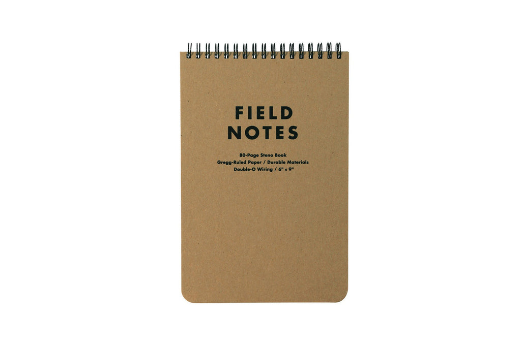 The Steno Notebook by Field Notes Brand