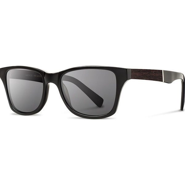 Shwood Canby: Black / Ebony - Grey
