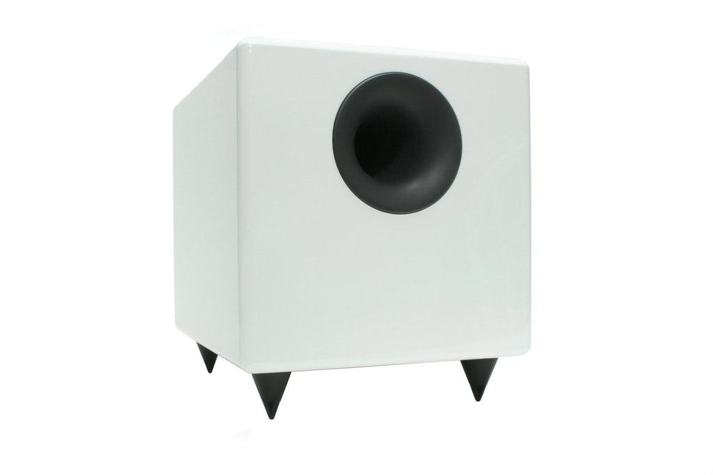 S8 Powered Subwoofer - White