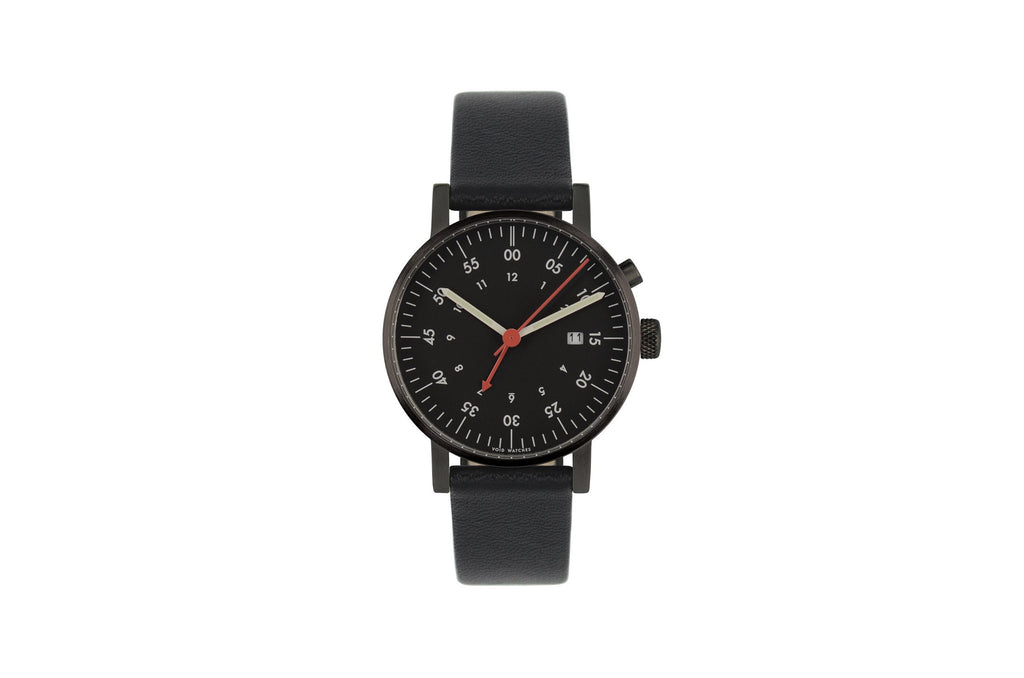 V03A Round Analog Watch with Alarm