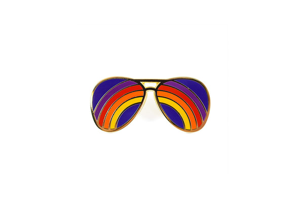 Rainbow Shades Pin
