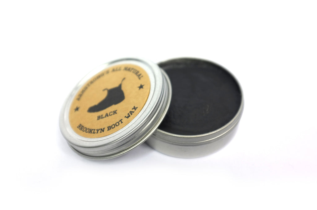 Boot Wax Black