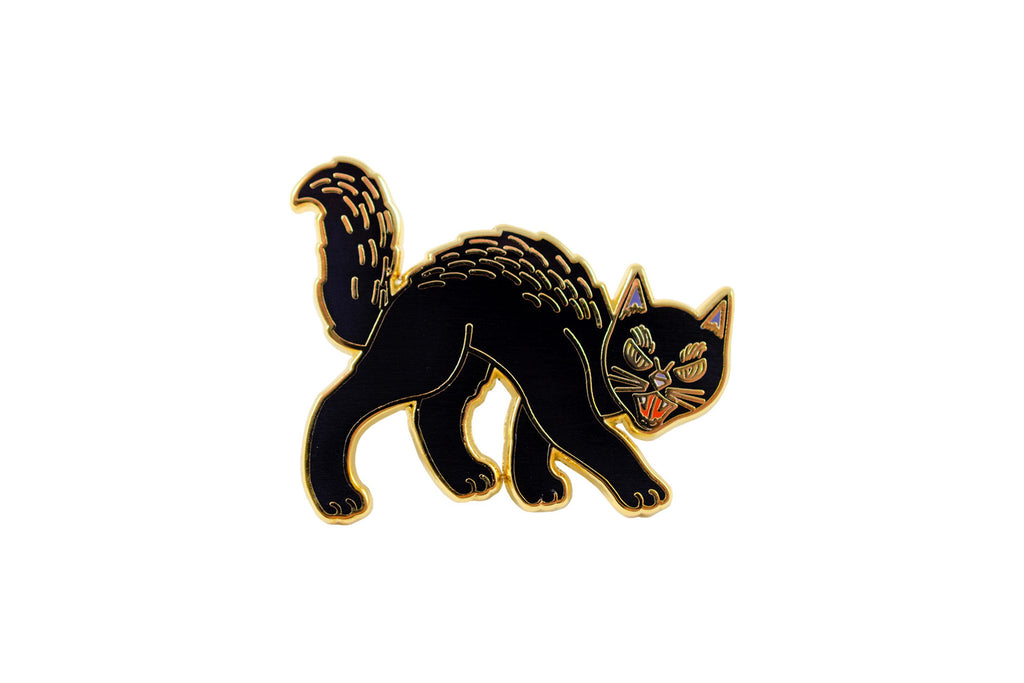 Retro Cat Pin