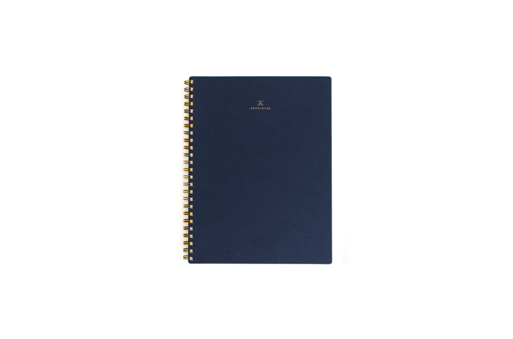 Workbook Navy, Blank