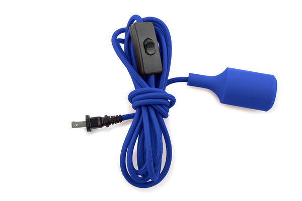 Cord Light Silicone - 12ft Blue