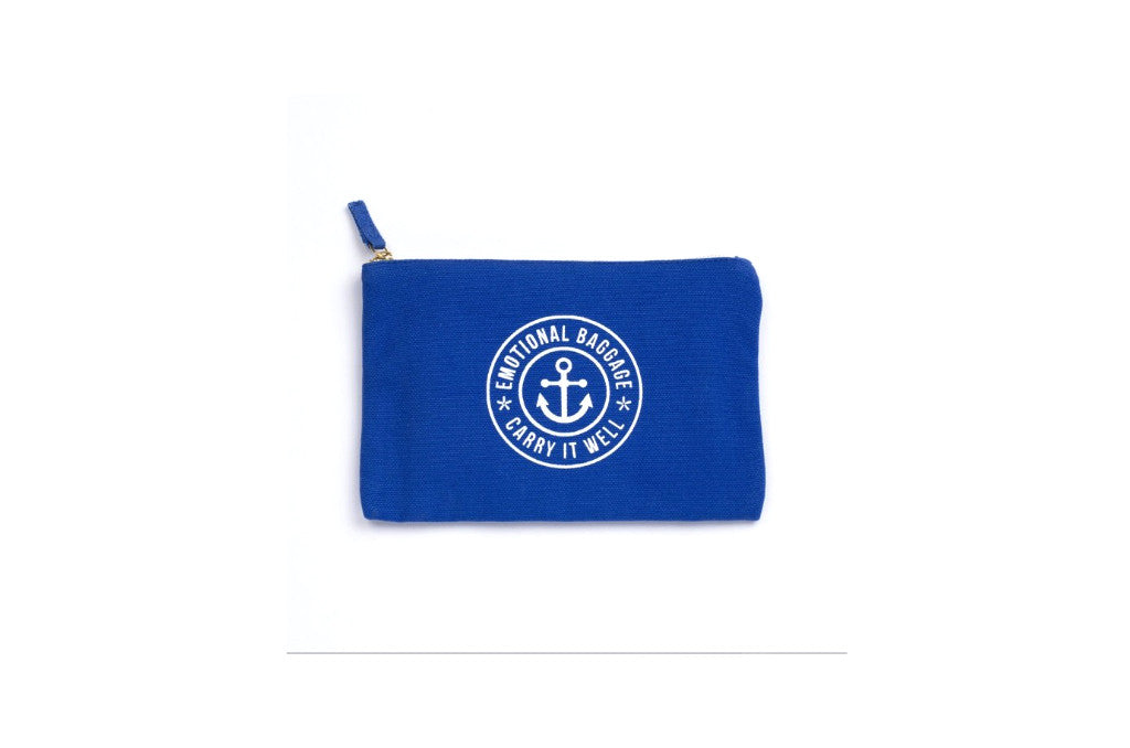 Emotional Baggage Pouch Blue