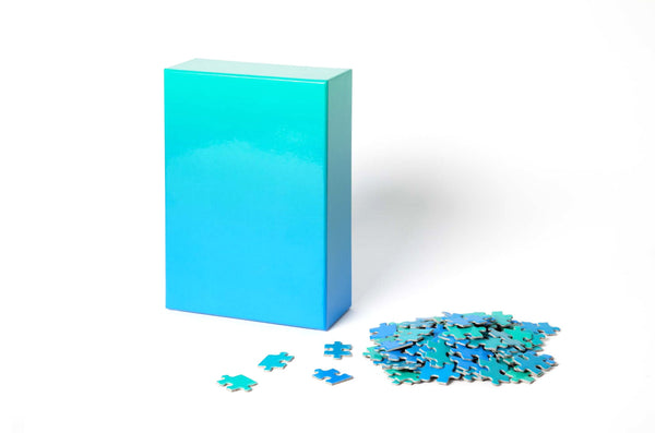 Gradient Puzzle (blue/green)