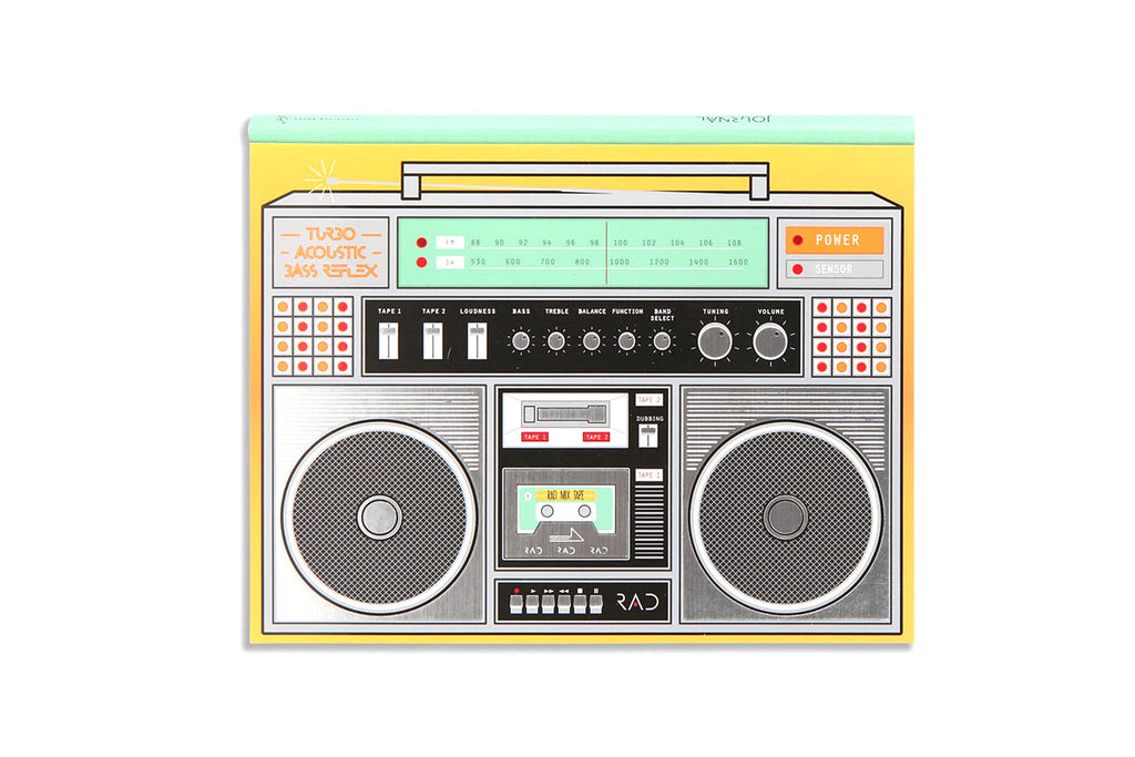 Rad Boombox Journal