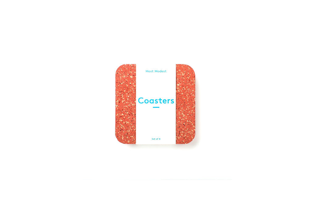 Rubber Cork Coaster Set