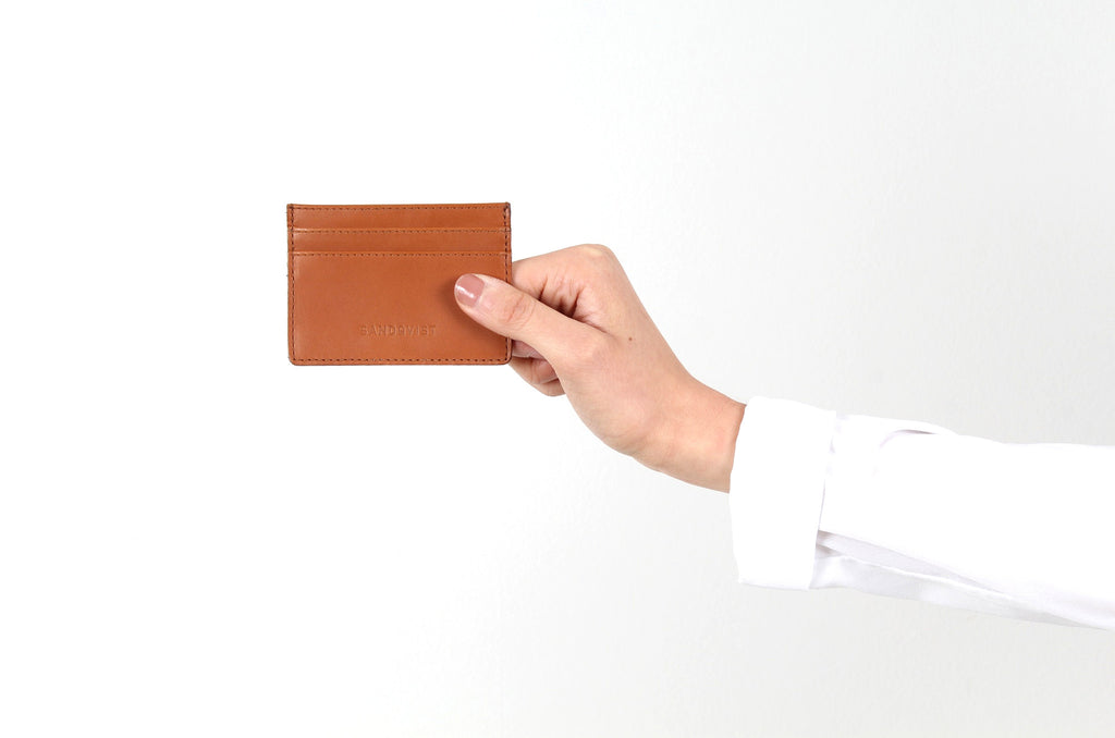 Buck Card Wallet Cognac