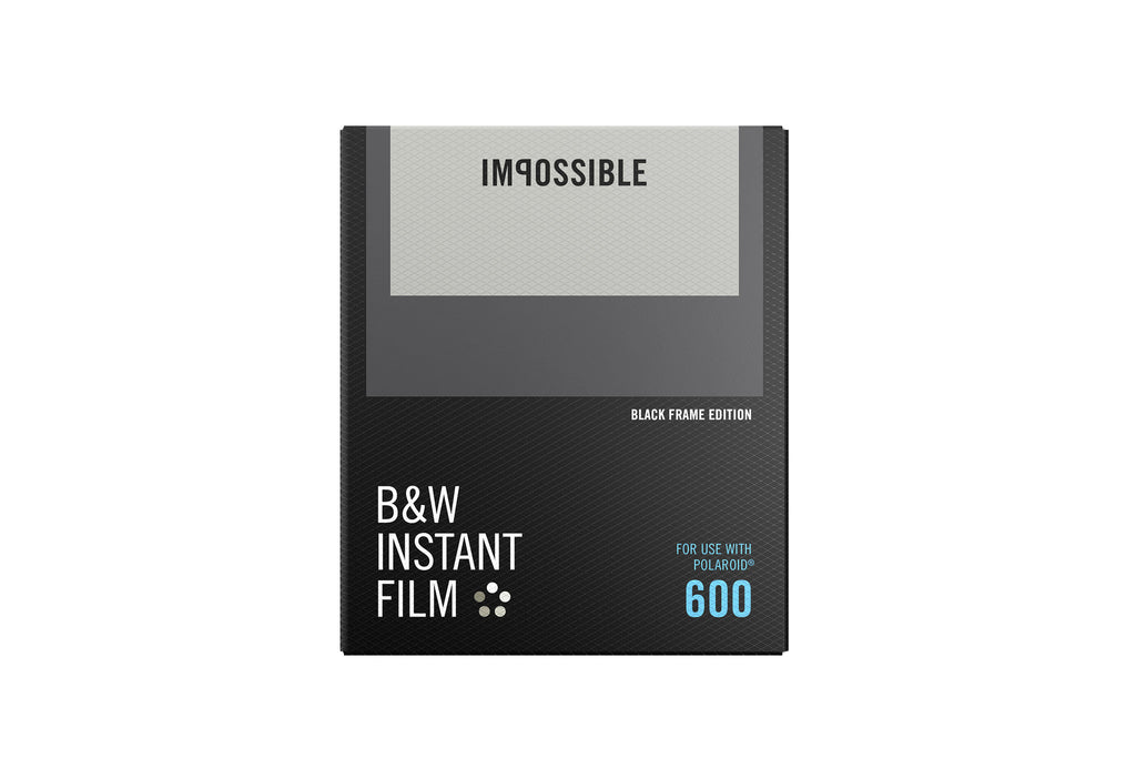 Impossible 600 B&W Film Black Frame