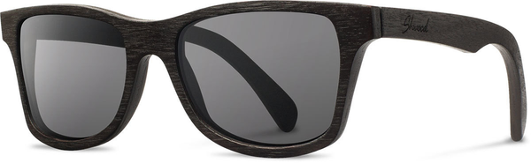 Shwood Canby: Dark Walnut - Grey Polarized