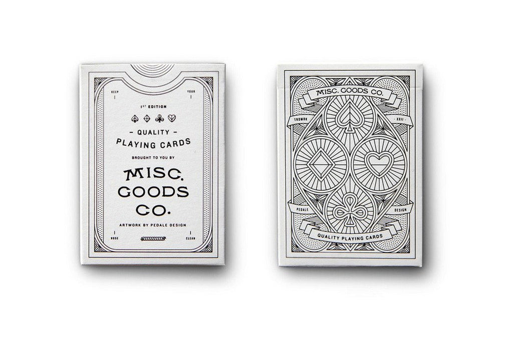 Misc. Goods Co. Card Deck