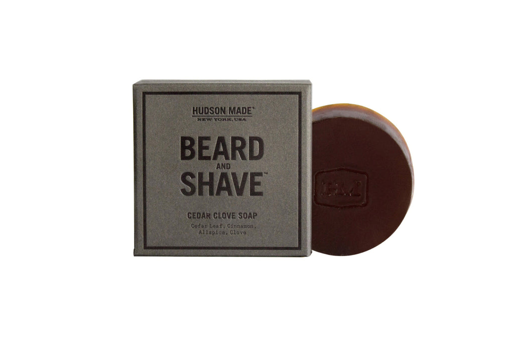 Hudson Made Cedar Clove Beard & Shave Soap