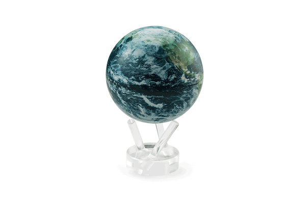 4.5'' Rotating Globe - Earth Satellite View