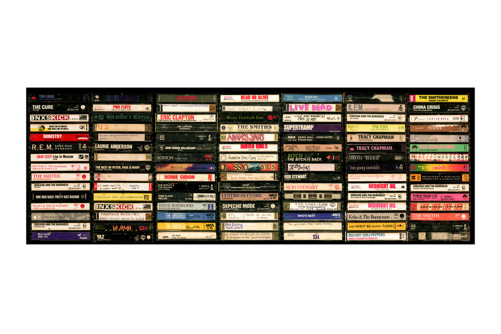 Eclectic/Mix Tapes Gallery Wall Art