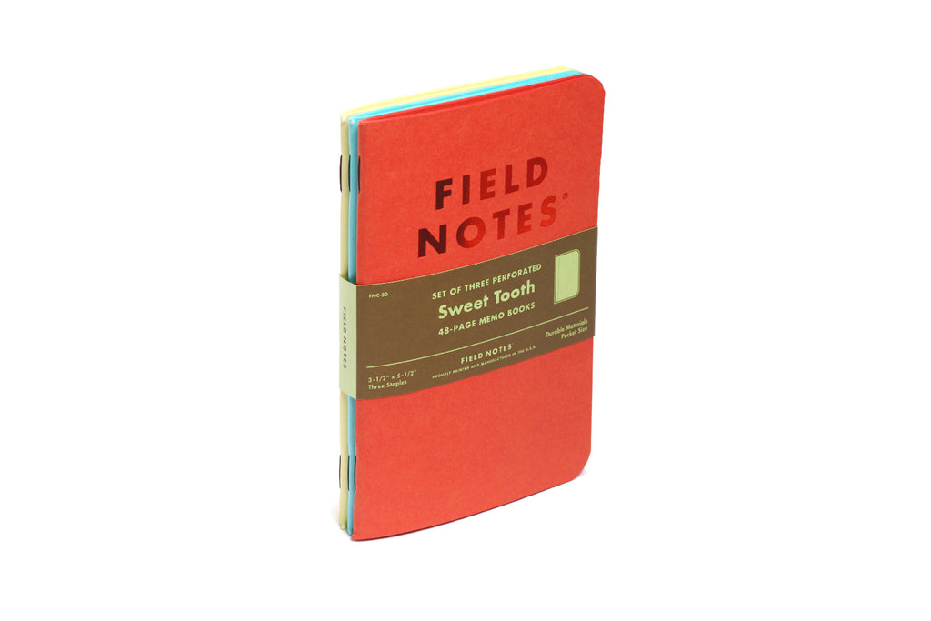 Field Notes - Sweet Tooth - Memo Books
