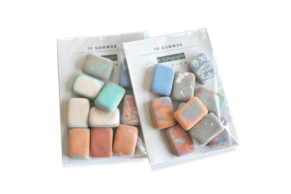Multi-Color Eraser Pack