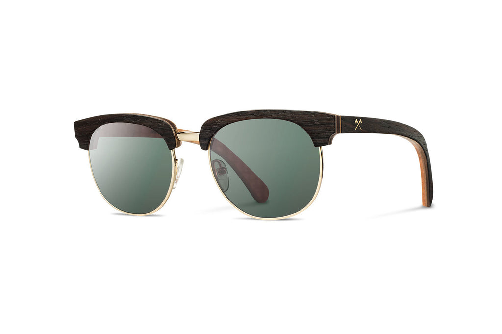 Shwood Eugene Select - Ebony Gold G15 Polarized