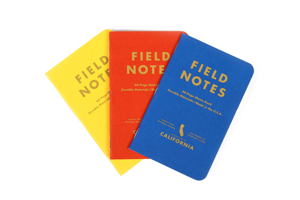 Field Notes - California County Fair Edition