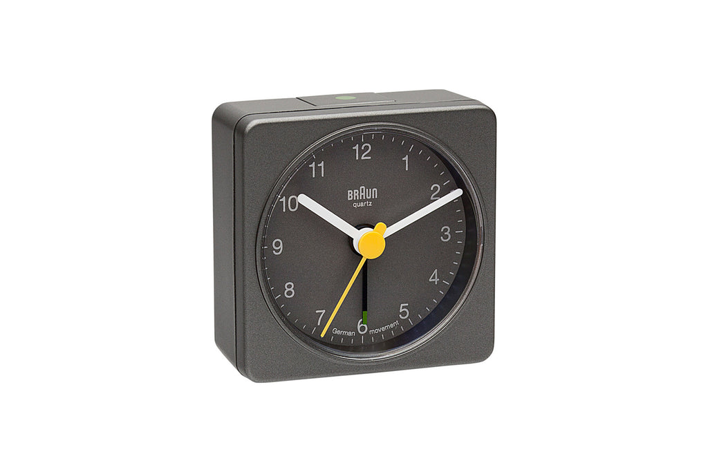Square Alarm Clock - Grey