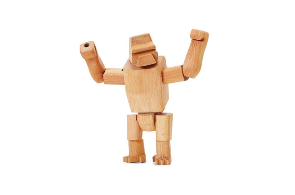 Wooden Harambe Jr.