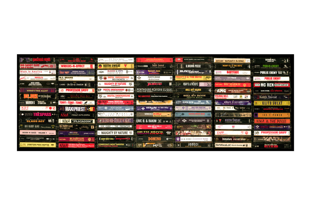Hip Hop Tapes Gallery Wall Art