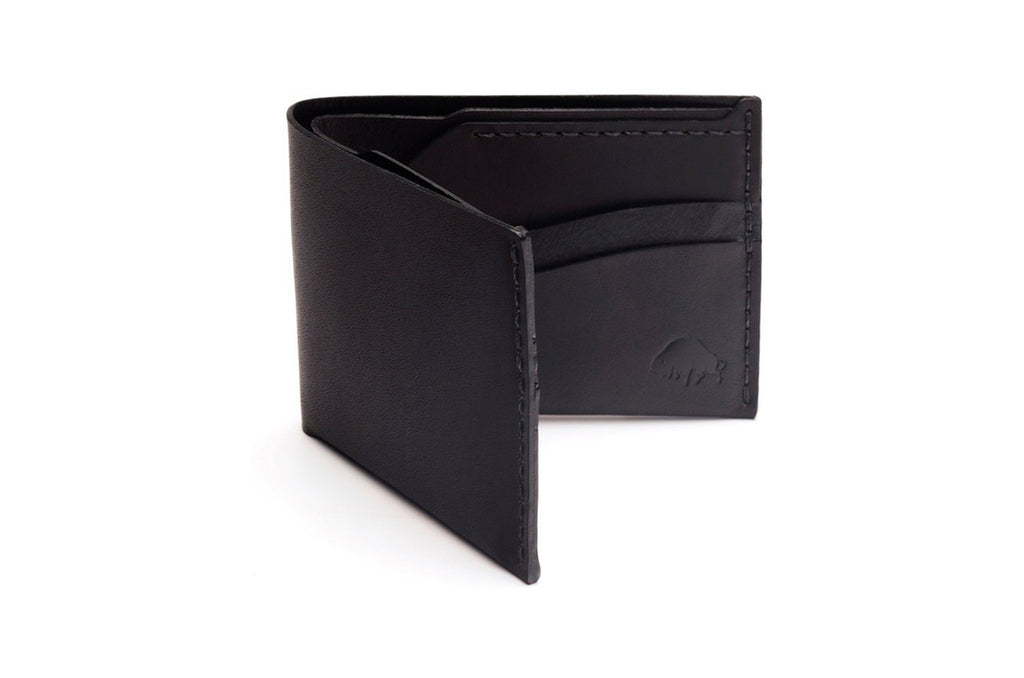 No.6 Wallet Jet Black