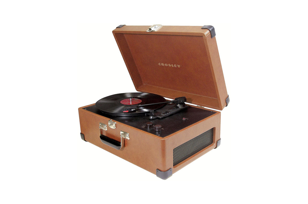 Keepsake Portable USB Turntable - Tan