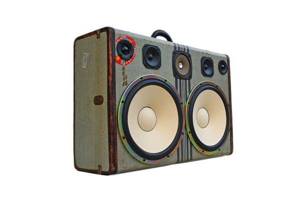 """Kobe Deluxe"" Boomcase with Dual 12"" Cream Woofers"
