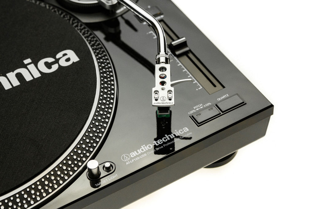 LP120 Professional Direct Drive Turntable (USB & Analog) - Black