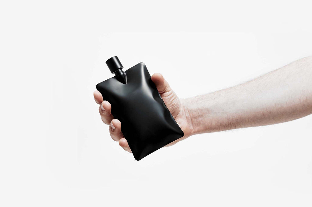 Liquid Body Flask Matte Black