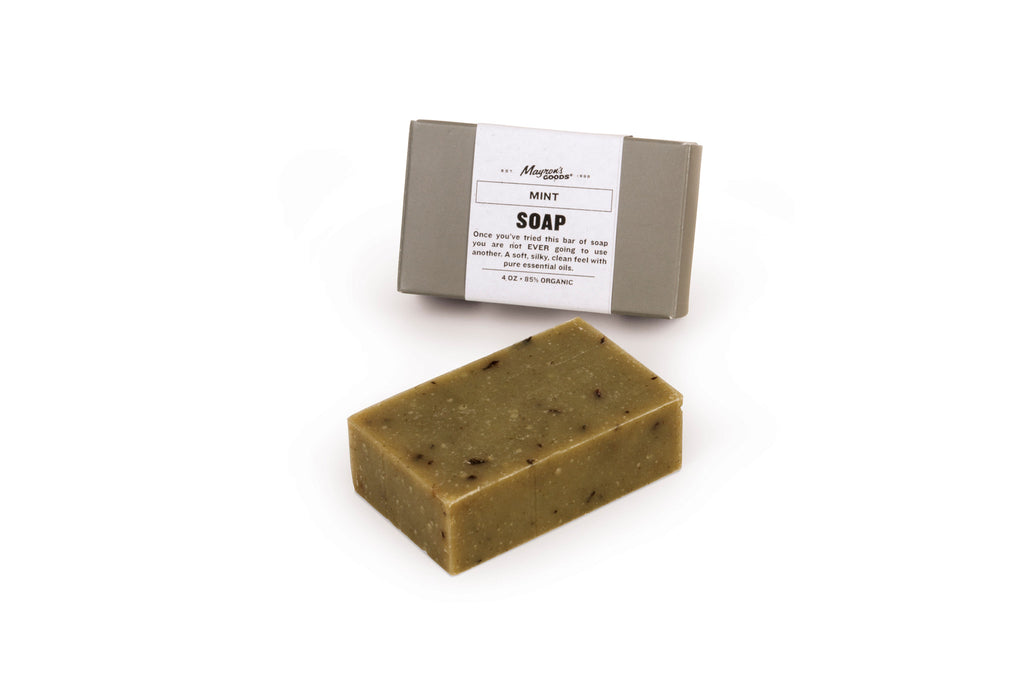 Mint Exfoliating Soap