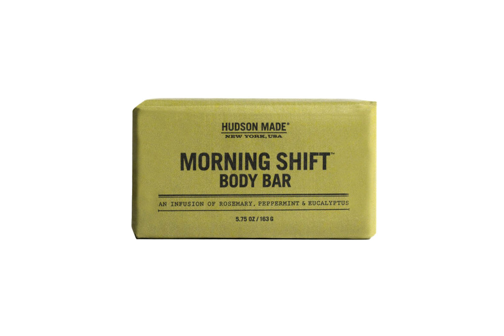 Hudson Made Morning Shift Body Bar Soap
