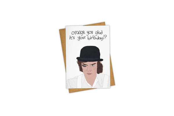 Clockwork Orange Card