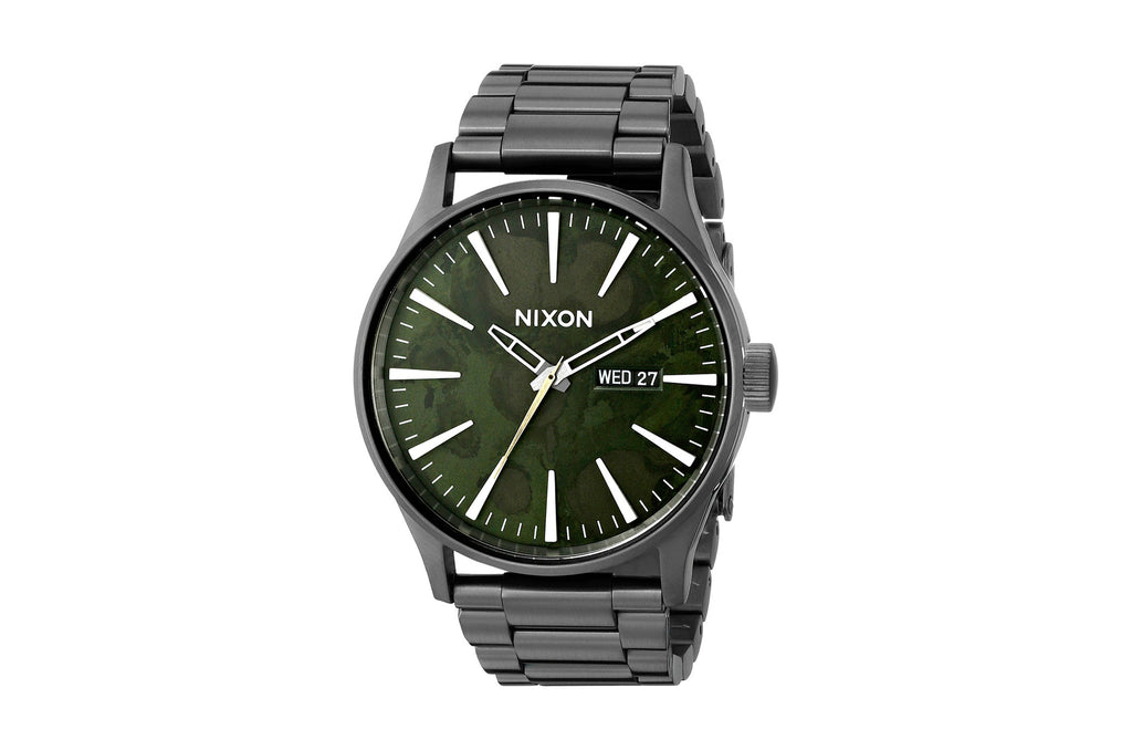 Sentry SS Watch Gunmetal/Green Oxyde