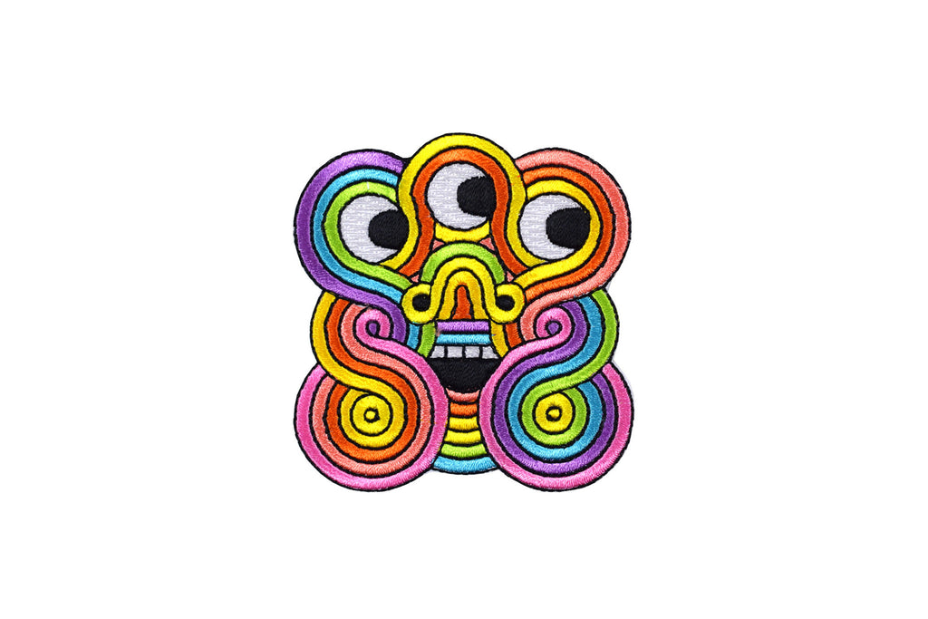 Rainbow Face Patch