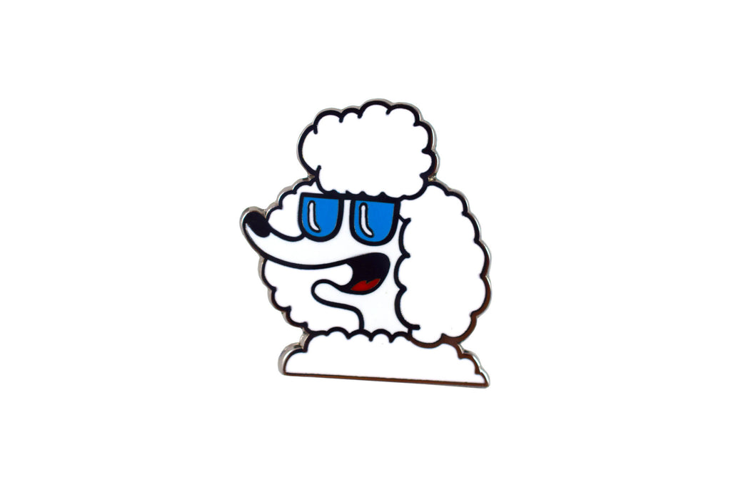 French Poodle Pin
