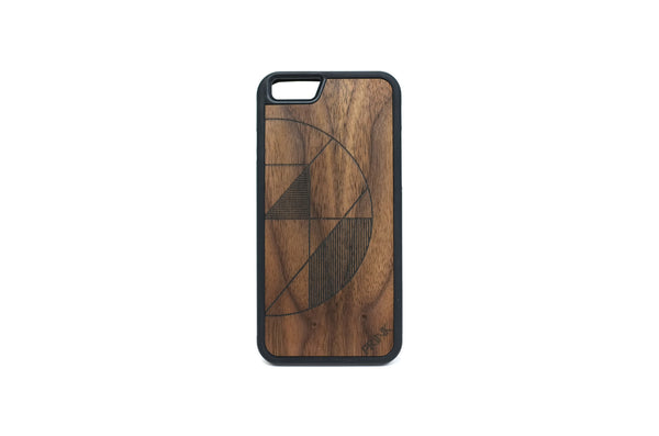 Centripetal Lines iPhone Case